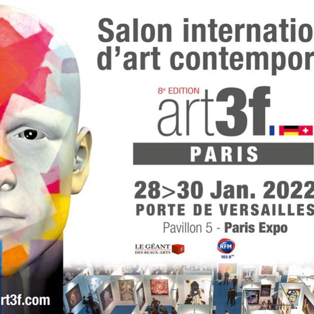 Salon International d'art contemporain art3f Paris