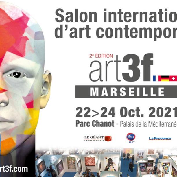 Salon international d'art contemporain salon art3f Marseille