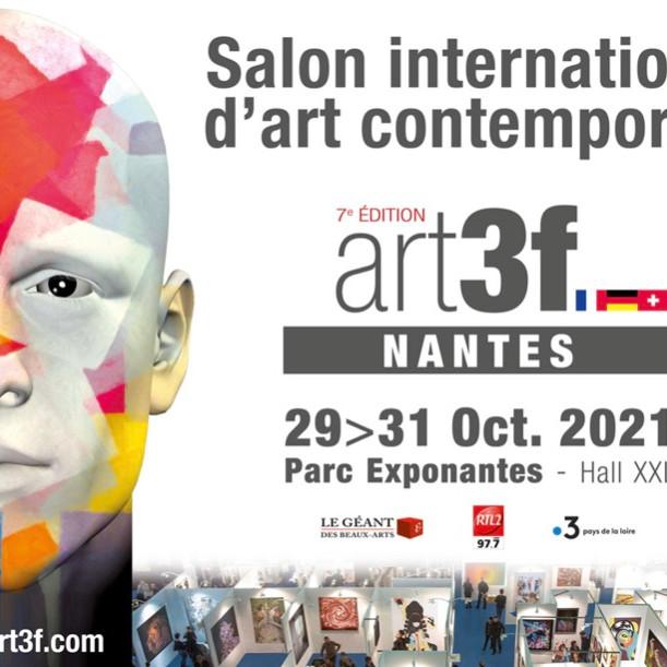 Salon International d'art contemporain art3f Nantes