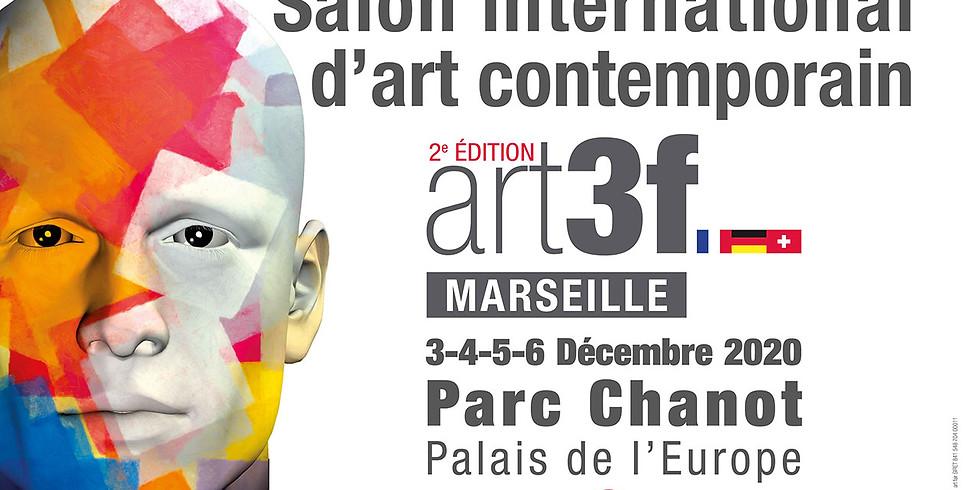 Salon international d'art contemporain art3f Marseille 3-4-5-6 décembre 2020