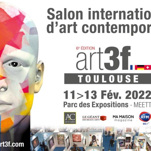 Salon international d'art contemporain art3f Toulouse