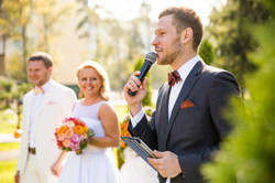 Ведущий на свадьбу в Москве Харис
