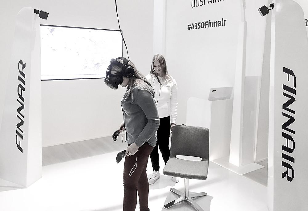 Matkamessut 2018 - virtuaalitodellisuus tulossa?