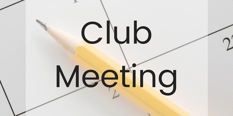 November Club Meeting