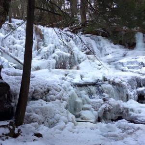 Garwin Falls Winter