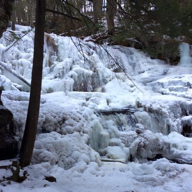 Garwin Falls Winter