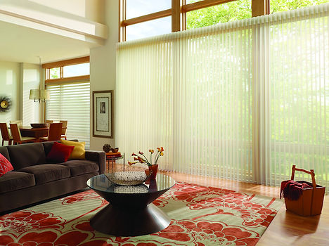 Hunter Douglas, LUMINETTE Privacy Sheers, Silhouette