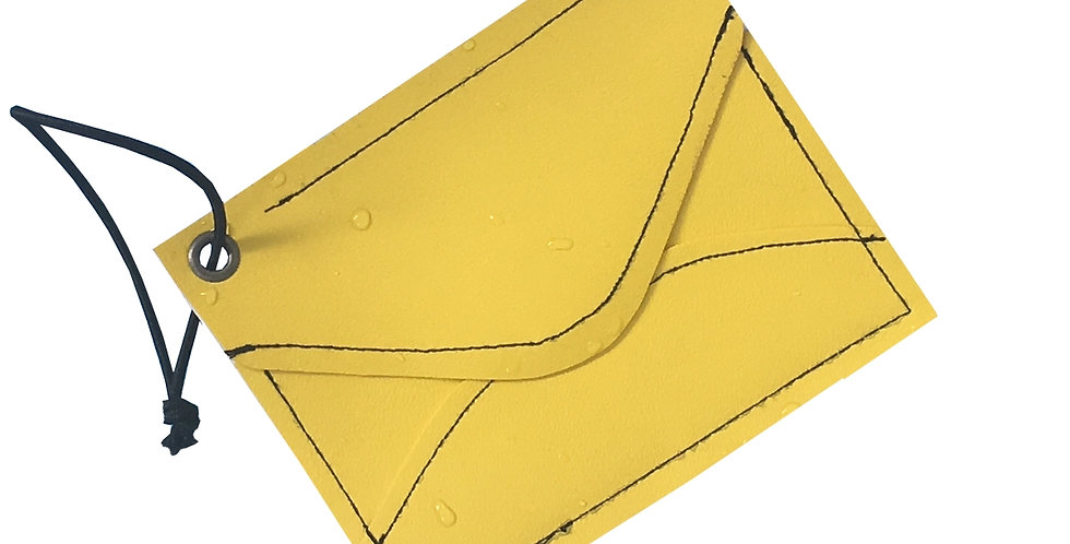 Yellow ENVELOPE Mini Wallet