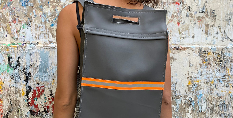 CARRY Backpack Grey/Fluo