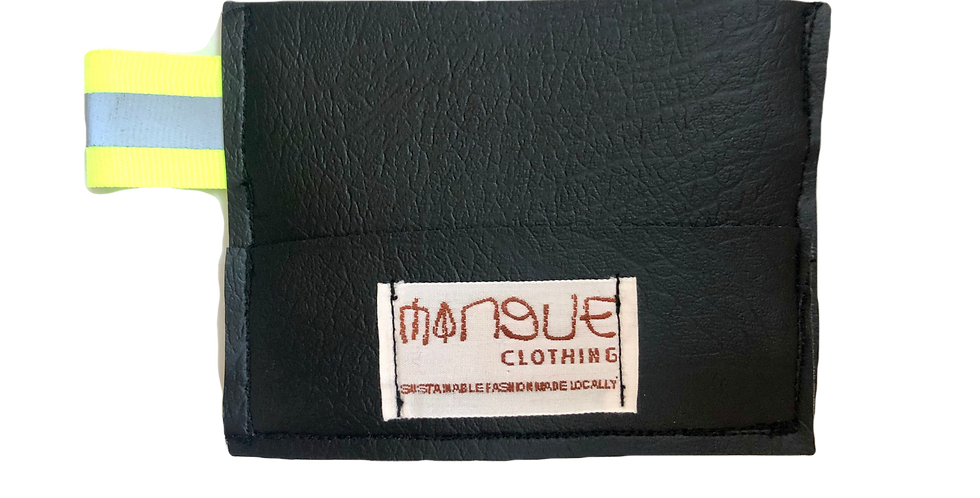 Black REFLET Card Holder