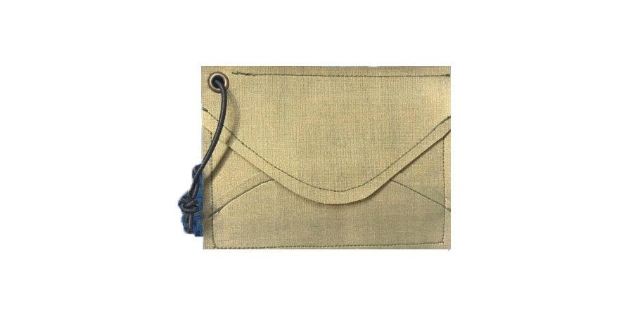 Metalic ENVELOPE Mini Wallet