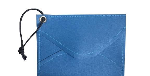 Blue ENVELOPE Mini Wallet
