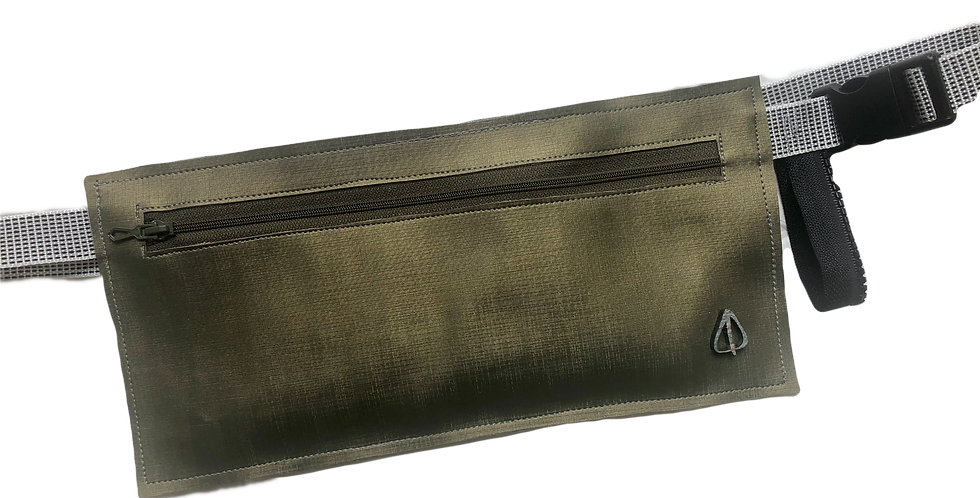 Metalic ANGLE Money belt