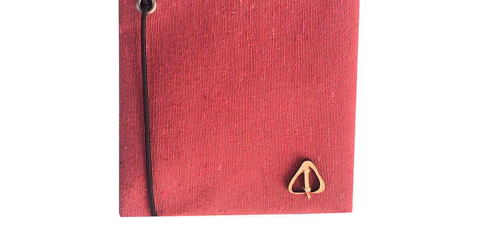 Red RUSTIC Wallet