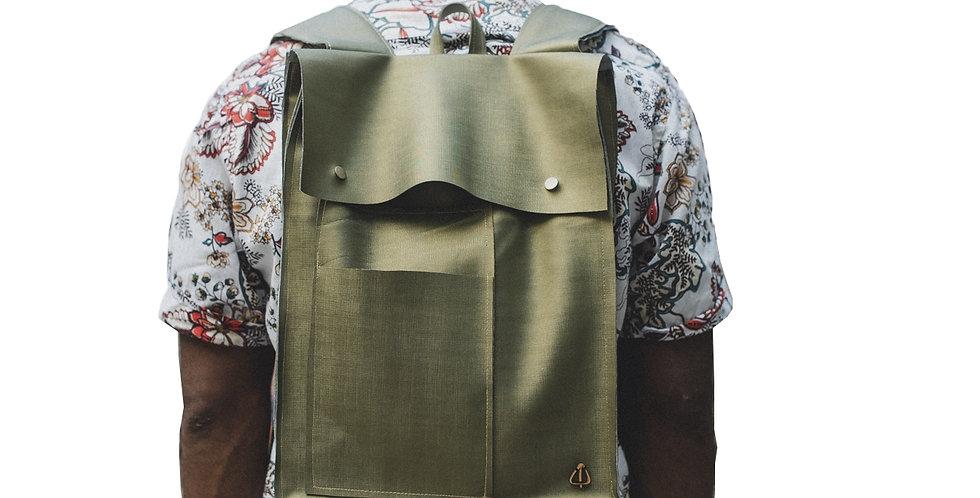 Metalic PVC Backpack