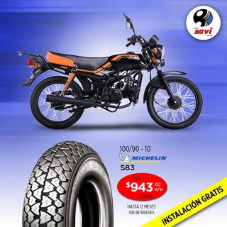 Michelin S83 100/90-10
