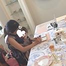 20180730 リッカ ポーセラーツサロン 西宮 苦楽園 お子様連れ歓迎 神戸