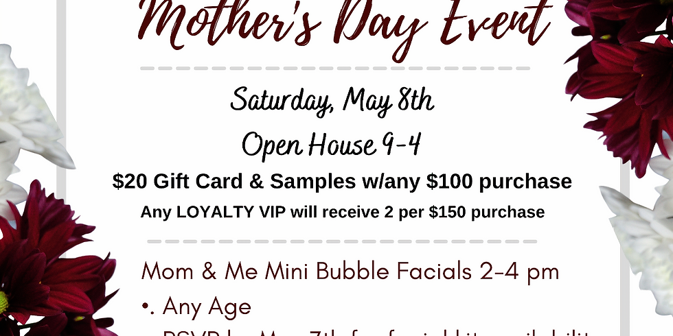 Mom & Me- Mother's Day Event