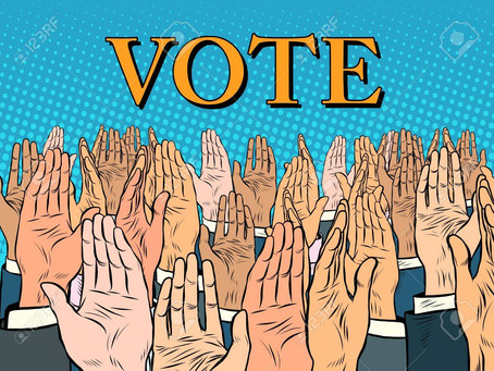Eu votez. Tu?