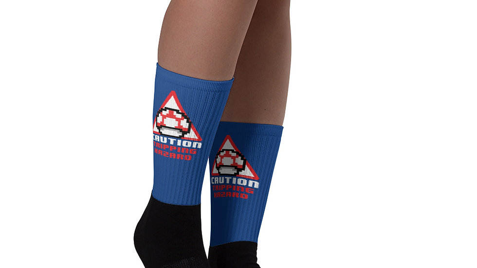 Mushroom Socks - Caution: Tripping Hazard