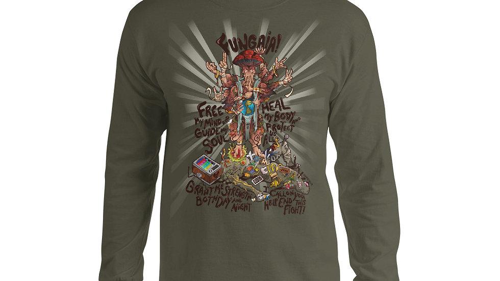Mushroom Long Sleeve Shirt - Fungaia
