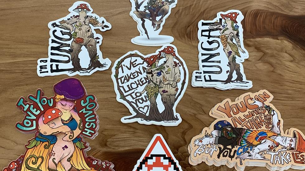 Fungi Lighting - Stickers