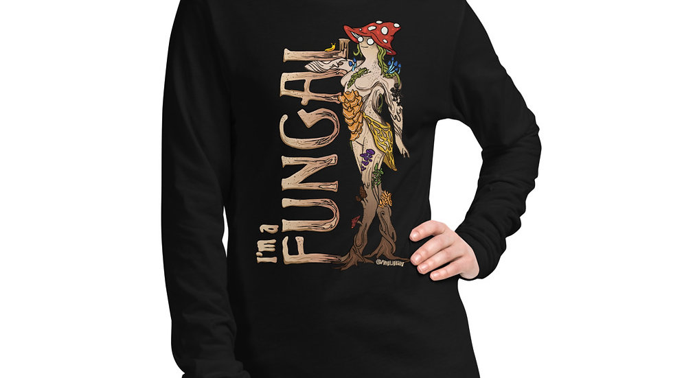 Mushroom Long Sleeve Shirt - I'm a Fungal