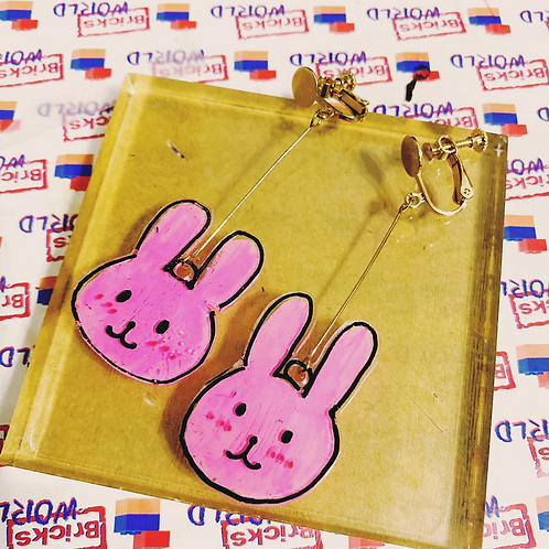 Handmade Jewelleries [Pink Bunny]