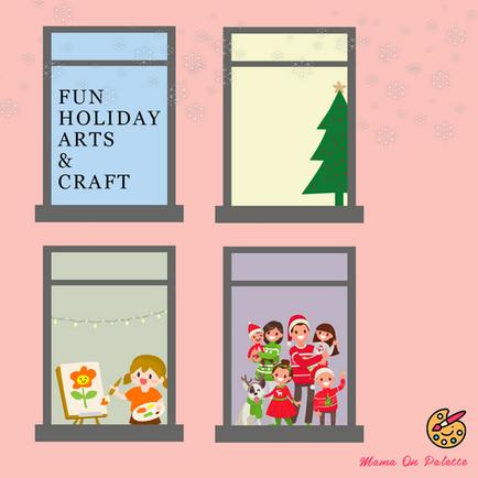 Fun Holiday Arts & Crafts 2020