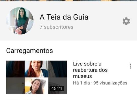 Canal de YouTube - A Teia da Guia