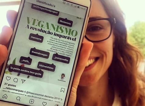 Veganismo em Portugal - entrevistada para o Expresso