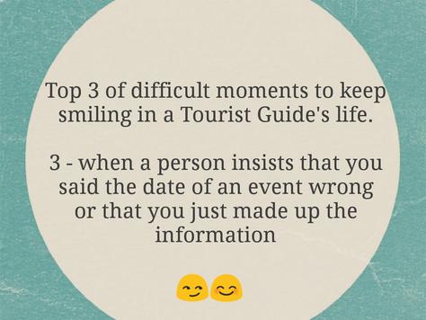 Momentos difíceis - top 3