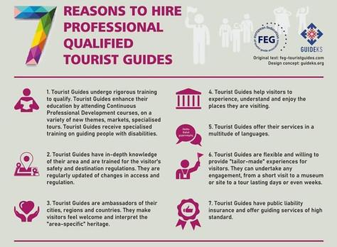 7 razões para contratar um Guia Certificado