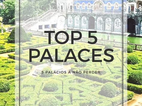 5 Palácios a não perder