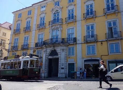 Primeiro prédio arrendado em Lisboa