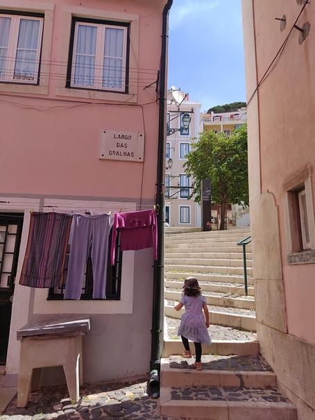 Ruas e Ruelas - Lisboa e as crianças