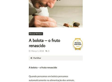 Reveal Writer - A bolota - o fruto renascido