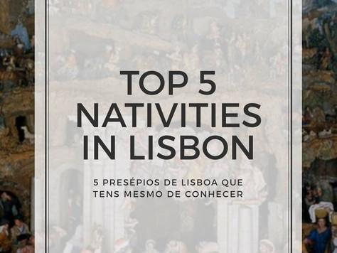 Top 5 Presépios em Lisboa