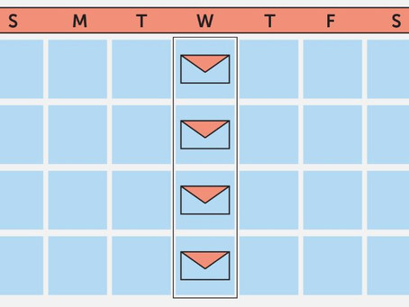 Two calendar approach, email and content
