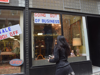 Downtown Crossings Antiques Business is For Sale