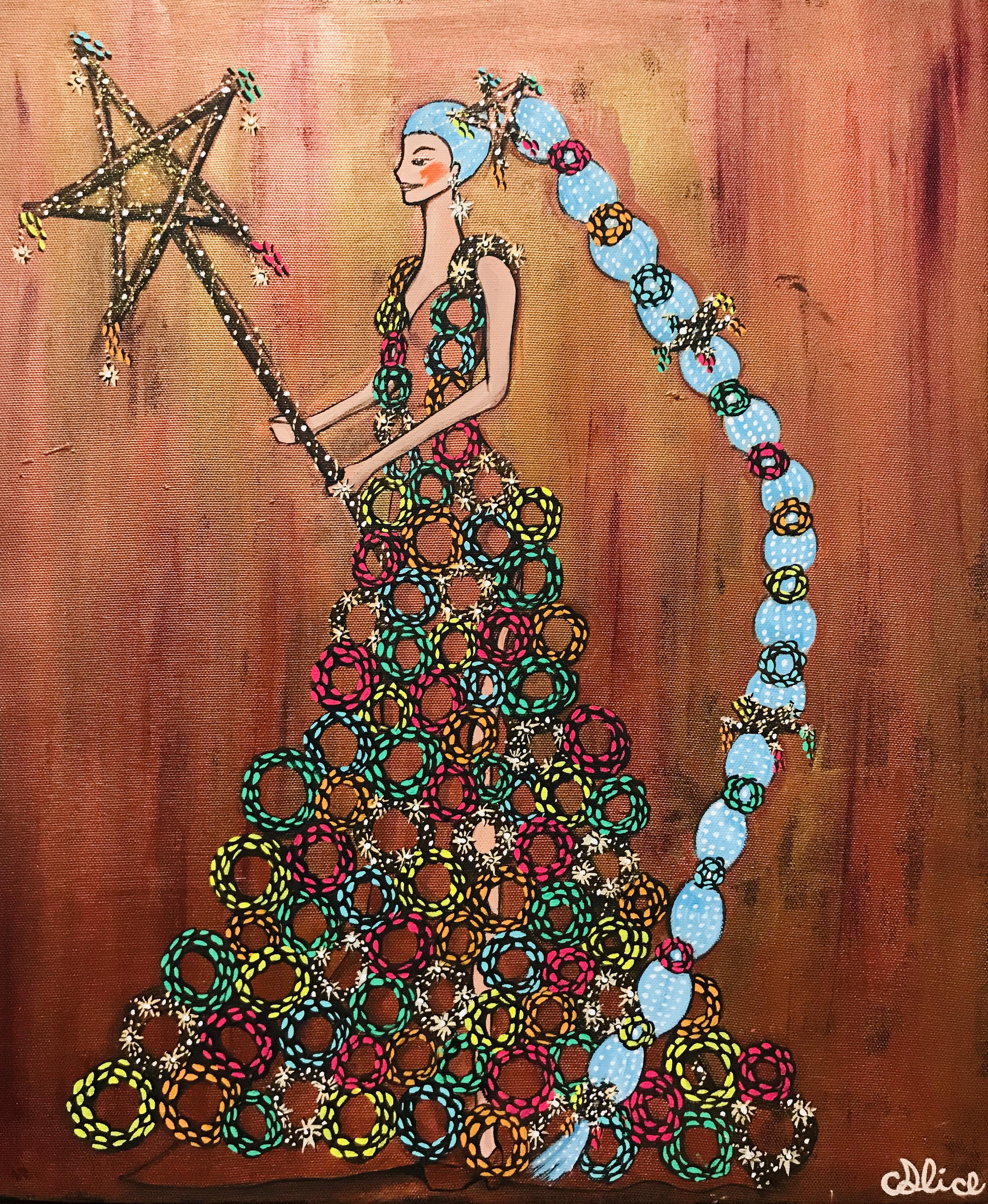 Wreath Goddesses -Blonze-