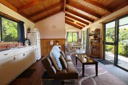 Cabin 2 lounge  kitchen Buln Buln Ca