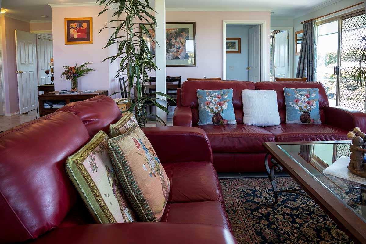 Premium Cabin Living Room