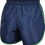 School Athletic Shorts Back View