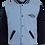 Fleece College Jacket Front View