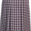 Pleated Check School Skirt Back View