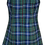 School Uniform Dress Back View