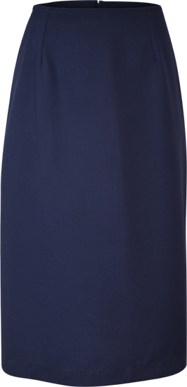 Straight School Skirt Front View