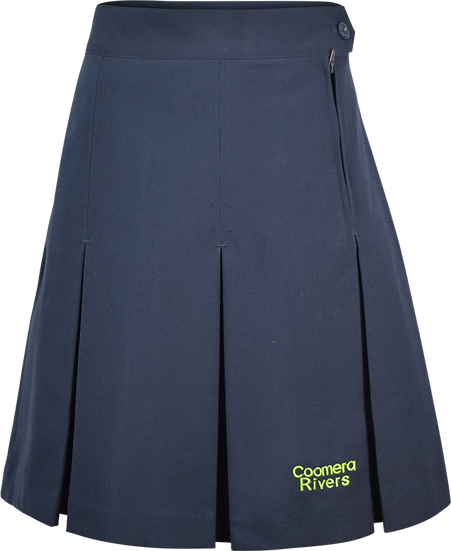 School Pleated Skirt Front View