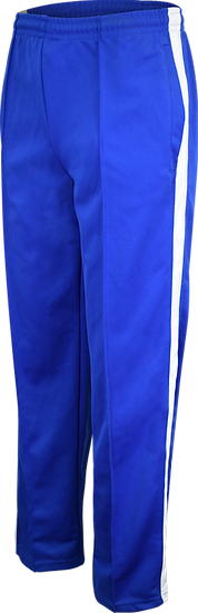 School Track Pants Front View